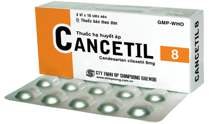 CANCETIL 08 mg